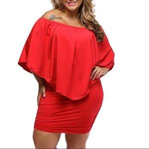 Dresses & Skirts - 🆕 Wear 3 ways Off Shoulder Bodycon Mini Dress